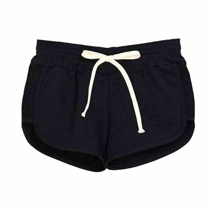 minorista online e035b bd263 mioim - Pantalones cortos para mujer Jogging playa Yoga Gym ...