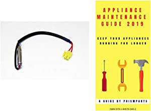 For Samsung Refrigerator Thermal Fuse PP6181764SG906 Bundle with PrismParts Appliance Maintenance Guide 2019 (Ships Separately)