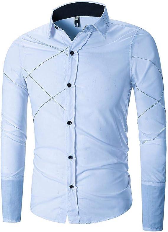 Rawdah Camisetas De Hombre Manga Larga Camisas Hombre Manga Larga ...