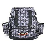 Innova HeroPack Disc Golf Backpack Bag (Black Argyle)