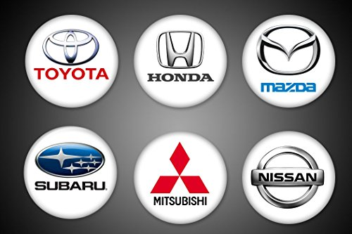 japanese-cars-symbols-magnets-toyota-mazda-honda-subaru-nissan-mitsubishi-for-fridge-or-locker-or-ma