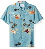 #8: 28 Palms Men's Standard-Fit 100% Cotton Hawaiian Shirt