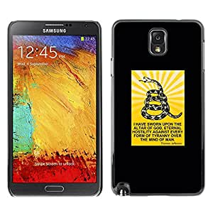 All Phone Most Case / Hard PC Metal piece Shell Slim Cover Protective Case Carcasa Funda Caso de protección para Samsung Note 3 N9000 N9002 N9005 snake god serpent Christian man Christ