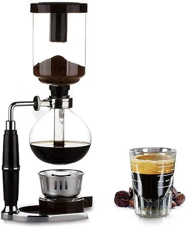 Máquina de café artesanal con sifón, cafetera de vacío con mango ...