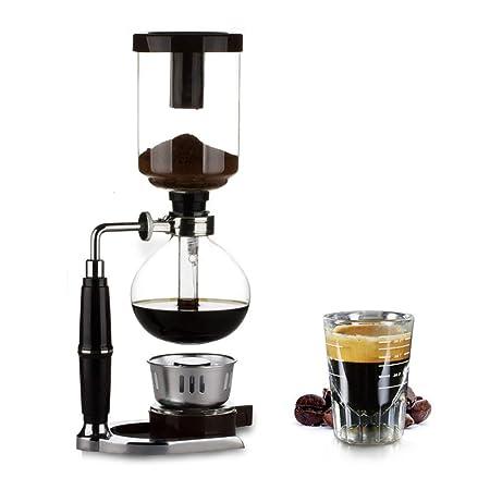 Máquina de café artesanal con sifón, cafetera de vacío con ...
