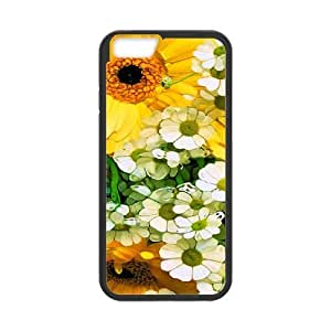 Case Cover For SamSung Galaxy S6 Elegant Flower Phone Back Case Art Print Design Hard Shell Protection FG075725