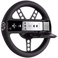DreamGEAR Wii U & W II Racing Wheel Hule Negro