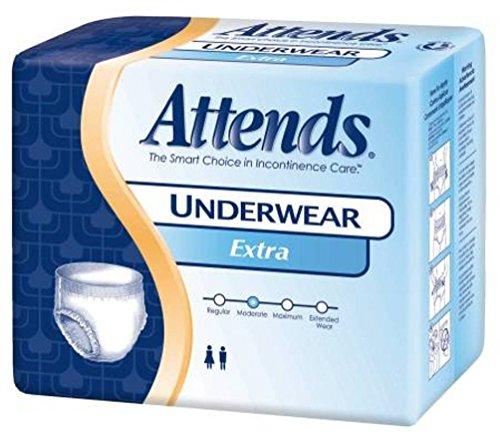 Paper Pak Attends Underwear - Attends Pull-Up Underwear Extra Absorbancy Medium PK/20 AP0720 by Paper Pak