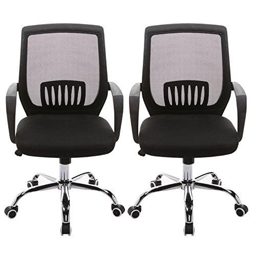Height Adjustable Swivel Task Chair - 9