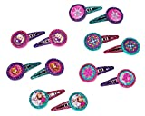 Disney Frozen Hair Clip Birthday Party Favour Accessory and Prize Giveaway (12 Pack), Multi Color, 1