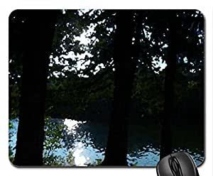 The Otonabee River Mouse Pad, Mousepad (Rivers Mouse Pad, Watercolor style)