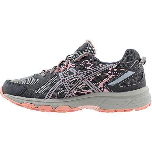 ASICS Gel-Venture 6 Women's Running Shoe, Carbon/Mid Grey/Seashell Pink, 5 M US by ASICS (Image #3)