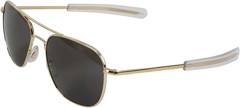 American Optics Gold GI 52mm Air Force Pilots Sunglasses