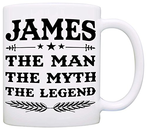 (Personalized!! Papa The Man The Myth The Legend Coffee Mug, Gift for Dad and Grandpa, Perfect Present for Birthday Christmas and Fathers Day)