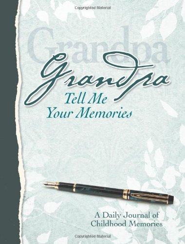 Grandpa, Tell Me Your Memories Heirloom Edition