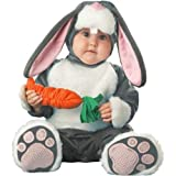 InCharacter Baby's Lil Character Baby Bunny Costume, Dark Grey/White/Pink, 12-18 Months