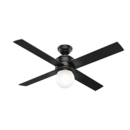 e4c63a33fded3 Hunter 59321 Hepburn Ceiling Fan Hunter Light with Wall Control