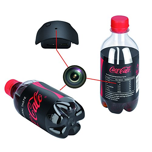 water bottle spy camera
