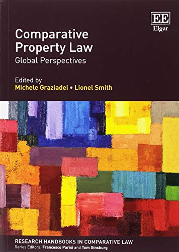 Comparative Property Law: Global Perspectives (Research Handbooks in Comparative Law series)
