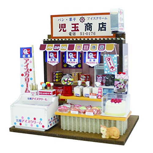The Market Kit Sweet Roll Shop Which the Hand-made Dollhouse Kit Is Dear