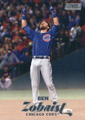 2017 Topps Stadium Club Baseball #14 Ben Zobrist Cubs - Cubs Stadium Club