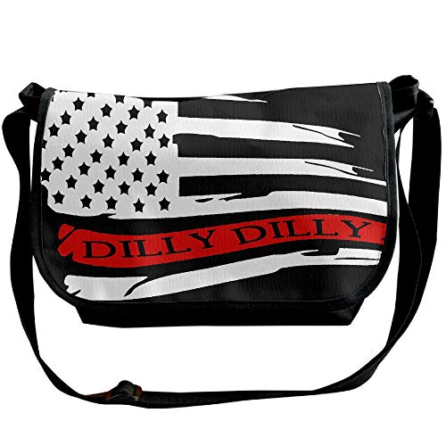 Bags Travel Mens American Flag Messenger Dilly Bags Shoulder Fashion Designer Single Black Dilly Bag xf1q7vfw