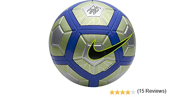Nike Neymar Strike - Pelotas de fútbol (Negro, Azul, Cromo, Verde ...