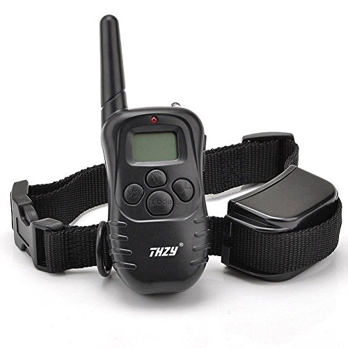 THZY Dog Training Collar Rechargeable LCD Remote Shock Control Pet Dog Training Collar with 100 Level of Vibration...