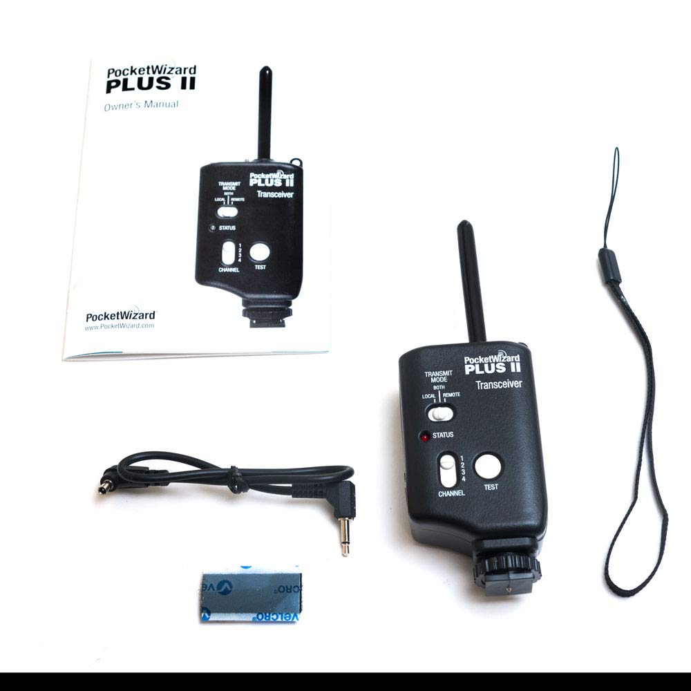 PocketWizard PLUS II Transceiver (Black)
