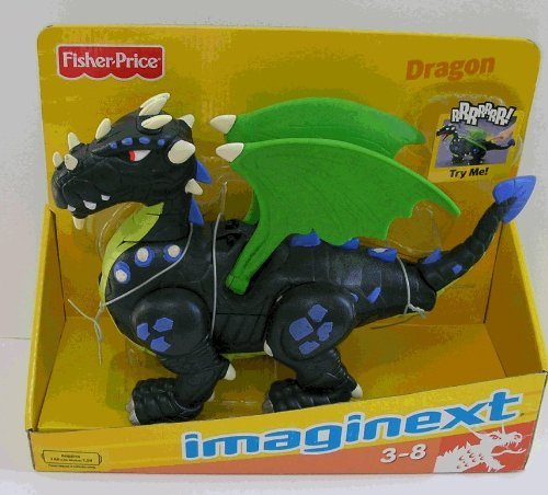 Imaginext Black Dragon -