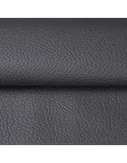 Soft PU Leather Upholstery Fabric Cotton Back for Hand Crafts DIY Tooling Sewing Hobby Workshop Crafting Wallet Making