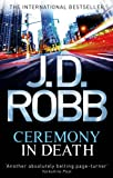 Front cover for the book Ceremony in Death by J.D. Robb