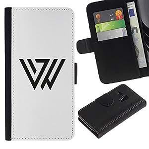 All Phone Most Case / Oferta Especial Cáscara Funda de cuero Monedero Cubierta de proteccion Caso / Wallet Case for Samsung Galaxy S3 MINI 8190 // Triángulo Marcos