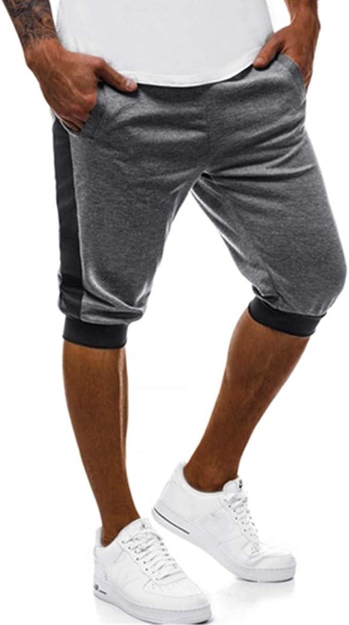 Lurcardo Pantalones Cortos Hombre, Pantalones Hombre Verano ...