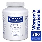 Pure Encapsulations – Women's Nutrients – Hypoallergenic Multivitamin/Mineral Complex for Women Over 40* – 360 Capsules