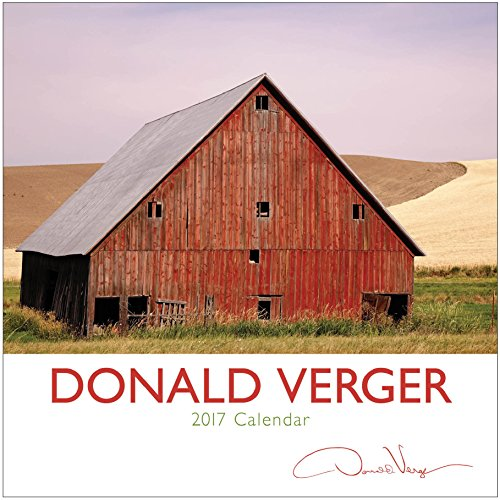 2017 Donald Verger Fine Art Landscape Calendar. Great 12x12 Wall or Desk. Unique Nature Photography of Ireland, Italy, Barns, Storms, Flowers. Best Quality Christmas, Birthday & Valentine's Day Gifts