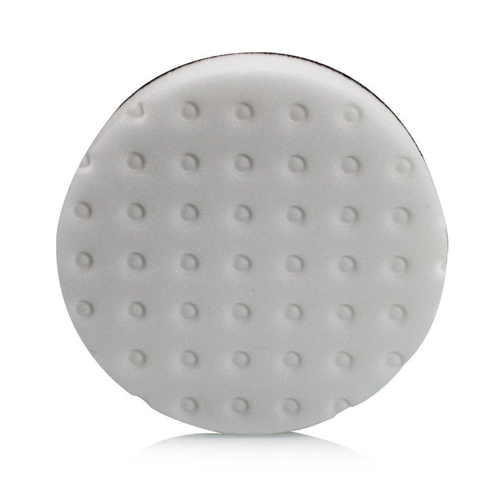 Lake Country CCSWH5 Polishing Pad, 5.5-inch Foam Pad, White