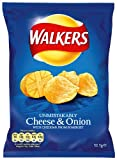 Walkers Crisps Cheese and Onion 12 Pack (Best By Jan 16th)