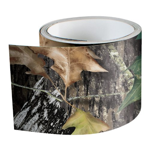Mossy 14007-2-BU - Rollo de cinta adhesiva de roble para camuflaje, 5 cm de ancho