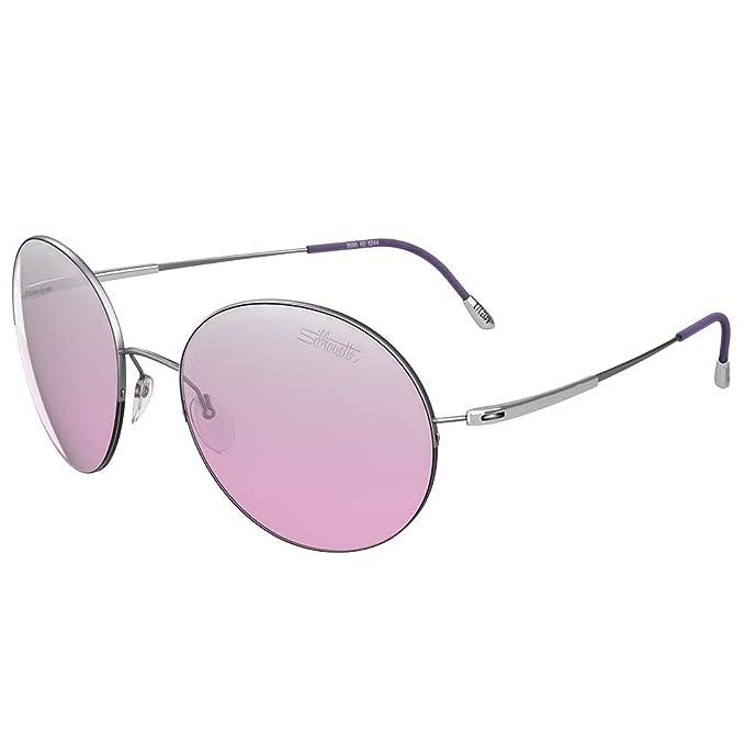 Gafas de Sol Silhouette ADVENTURER 8685 SILVER/PINK mujer ...