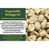 Yirgacheffe WonagoGr1 - Unroasted Washed Ethiopia Coffee (1 Kg / 2.2 Lbs)