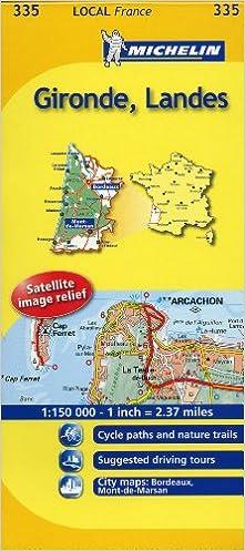 Mapa Local Gironde, Landes (Mapas Local Michelin): Amazon.es: Michelin Travel Publications: Libros en idiomas extranjeros