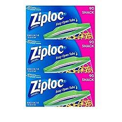 Ziploc Snack Bags, 270 Count