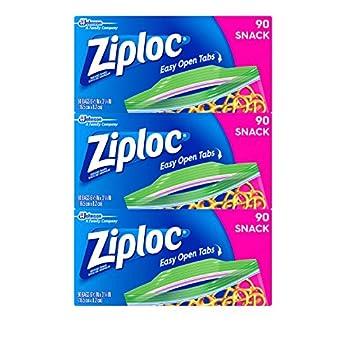 Ziploc Snack Bags, 270 Count 0