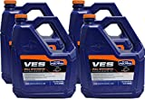 1 Case of 4 Gallons OEM Polaris VES Gold Synthetic 2 Cycle Snowmobile Oil 2877883