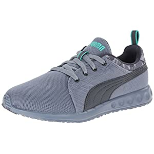 PUMA Men's Carson Runner Camo Training Shoe,Trade Winds/Turbulence/Pool Green,8.5 M US