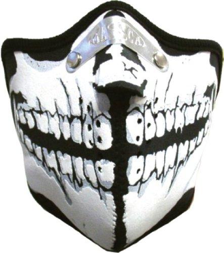 Extrem Sport & Biker Maske - Totenkopf Fratze