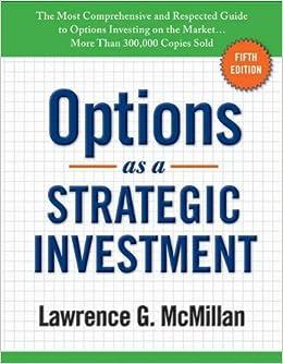 Stock options strategies pdf