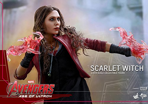 51VvcfeP2DL Hot Toys Marvel Avengers Age of Ultron Scarlet Witch 1/6 Scale Figure