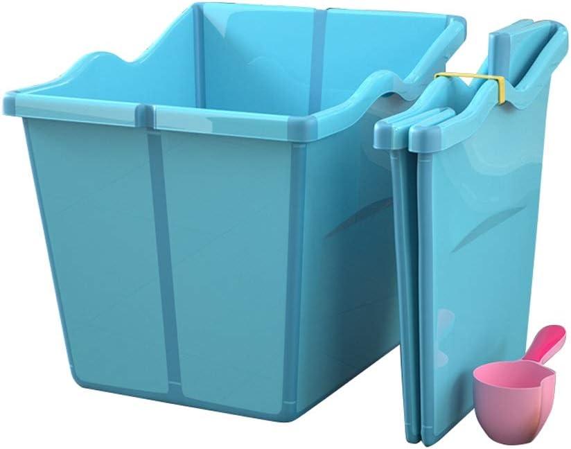 GYF Bañera Plegable De Mascotas,Baño para Perros Plegable Agua Piscina para Mascotas Pequeña Lavabo para Mascotas Azul Rosa 55X53X50cm (Color : Blue): Amazon.es: Hogar